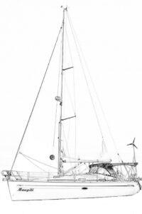 Segelyacht Maupiti